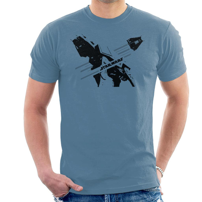 Star Wars ATAT And T47 Battle Of Hoth Men's T-Shirt - POD66