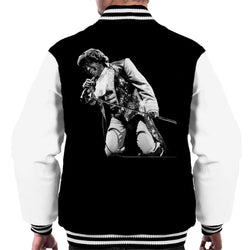 James Brown Playing At Wembley 1991 Men's Varsity Jacket - POD66