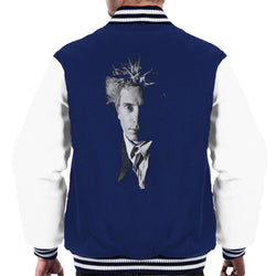 Black And White John Lydon Johnny Rotten Of Public Image Ltd Men's Varsity Jacket - POD66