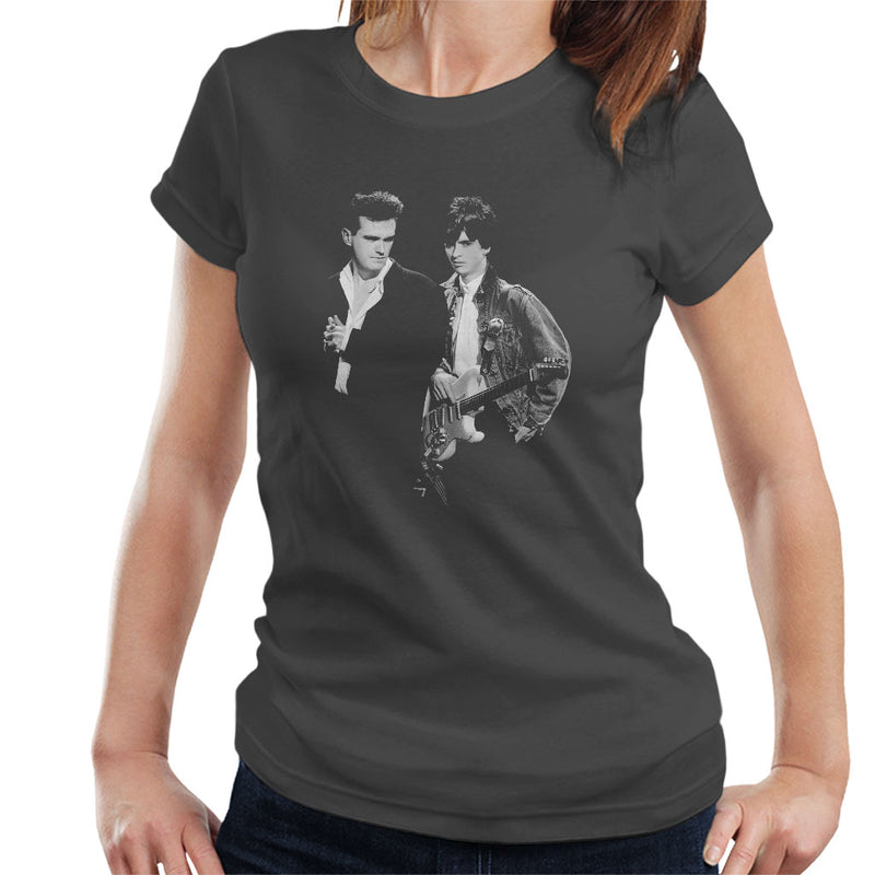 The Smiths Morrissey And Johnny Marr Together Live 1985 Women's T-Shirt - POD66