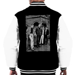 The Smiths In Manchester At Salford Lads Club 1985 Men's Varsity Jacket