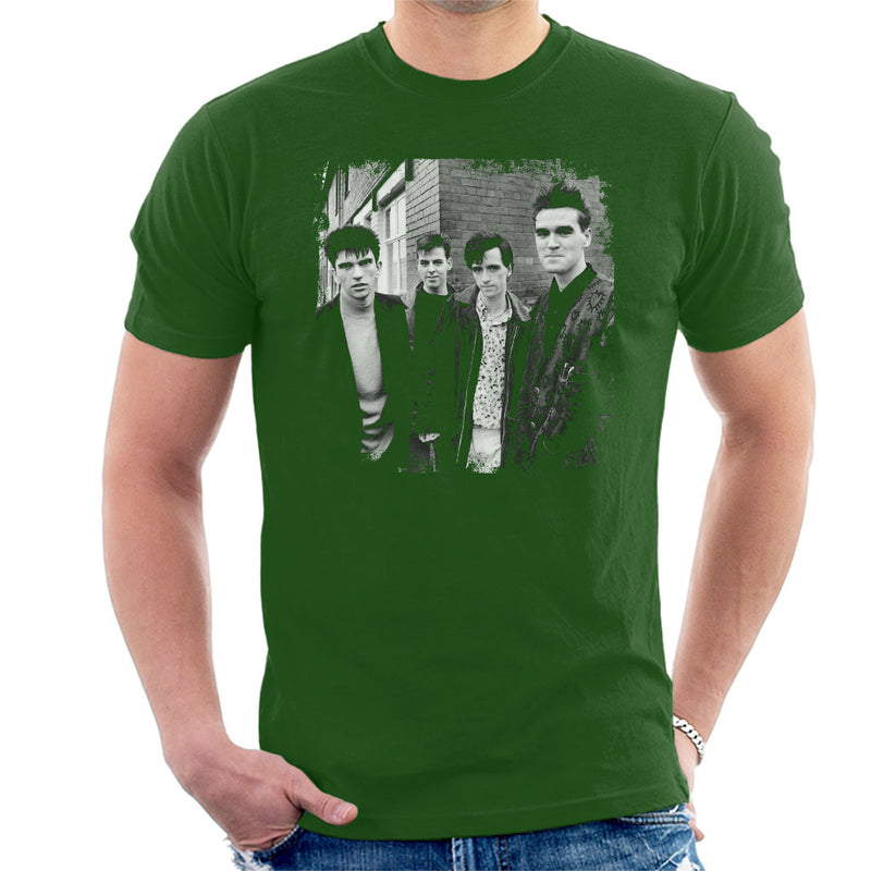 The Smiths Salford Lads Club Shoot Street Shot 1985 Men's T-Shirt - POD66