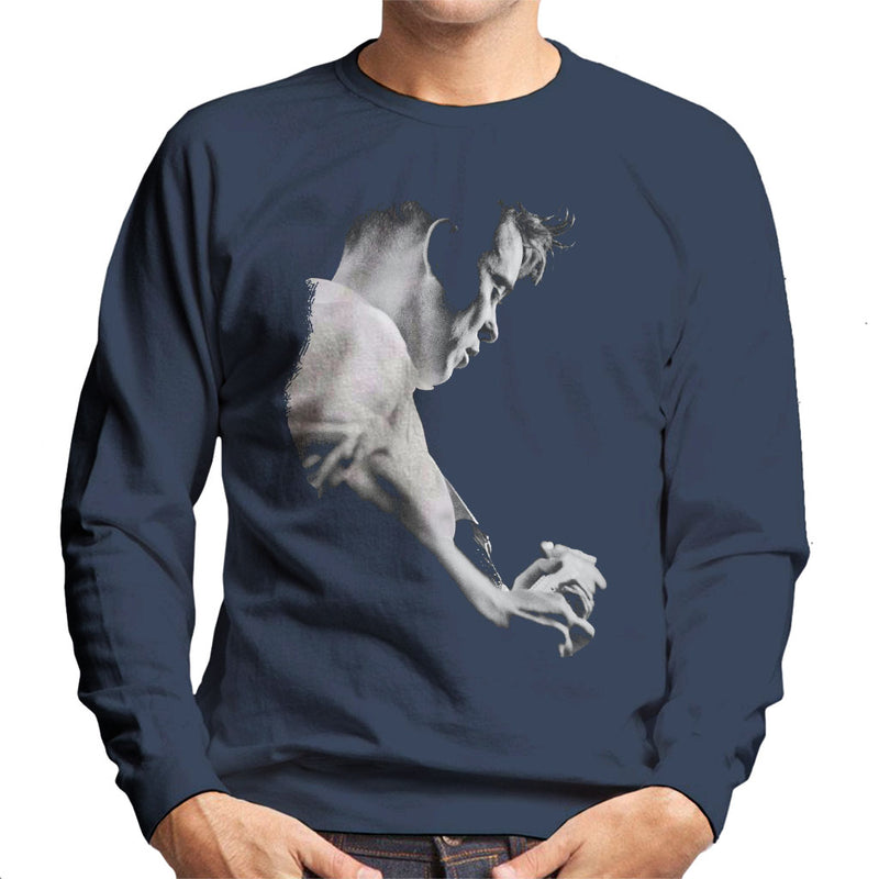 Bernard Sumner Of New Order Live Men's Sweatshirt - POD66