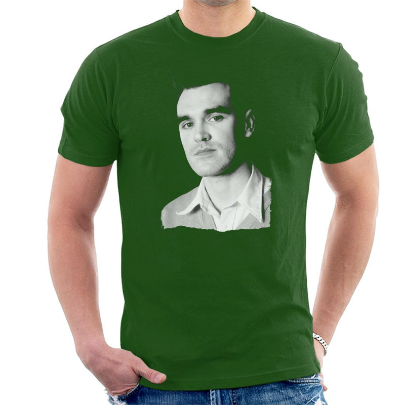 The Smiths Studio Portrait Of Morrissey Men's T-Shirt - POD66