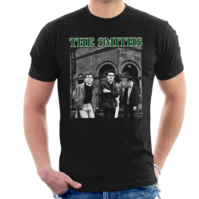 The Smiths Band Shot Salford Lads Club Men's T-Shirt - POD66