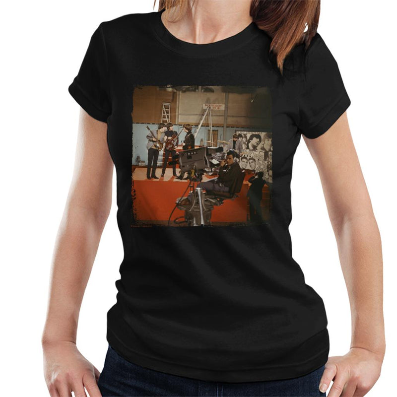 TV Times The Beatles Ready Steady Go Rehearsal Women's T-Shirt - POD66