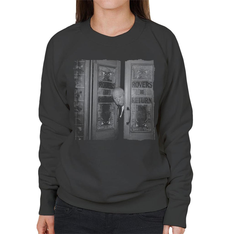TV Times Alfred Hitchcock At The Rovers Return 1964 Women's Sweatshirt - POD66