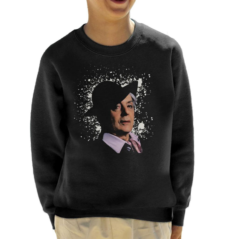 TV Times Quentin Crisp 1977 Kid's Sweatshirt