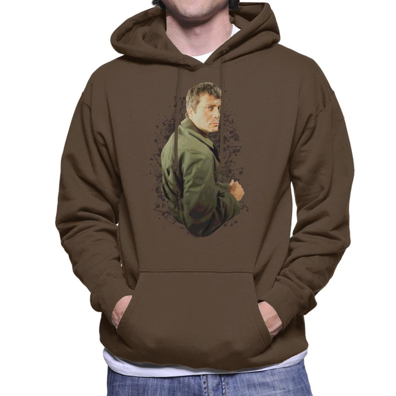 TV Times Oliver Reed 1971 Men's Hooded Sweatshirt - POD66