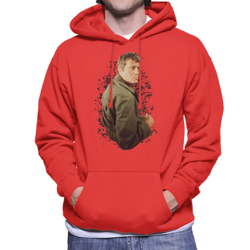 TV Times Oliver Reed 1971 Men's Hooded Sweatshirt
