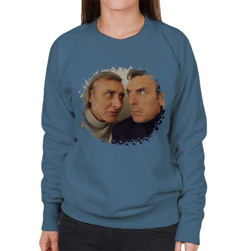 TV Times Spike Milligan And Eric Sykes Women's Sweatshirt