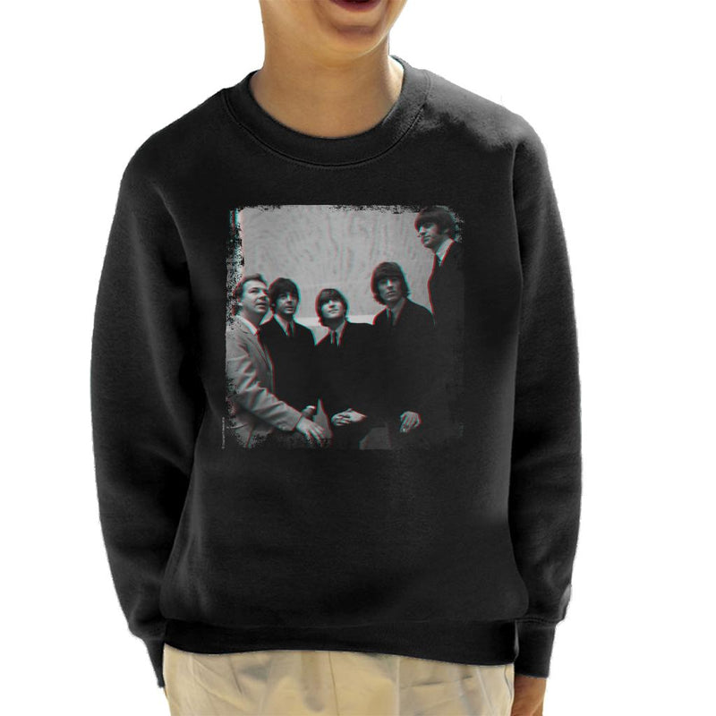 TV Times The Beatles With Johnny Hamp Kid's Sweatshirt - POD66