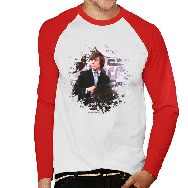 TV Times Charlie Watts Live Rolling Stones Men's Baseball Long Sleeved T-Shirt - POD66