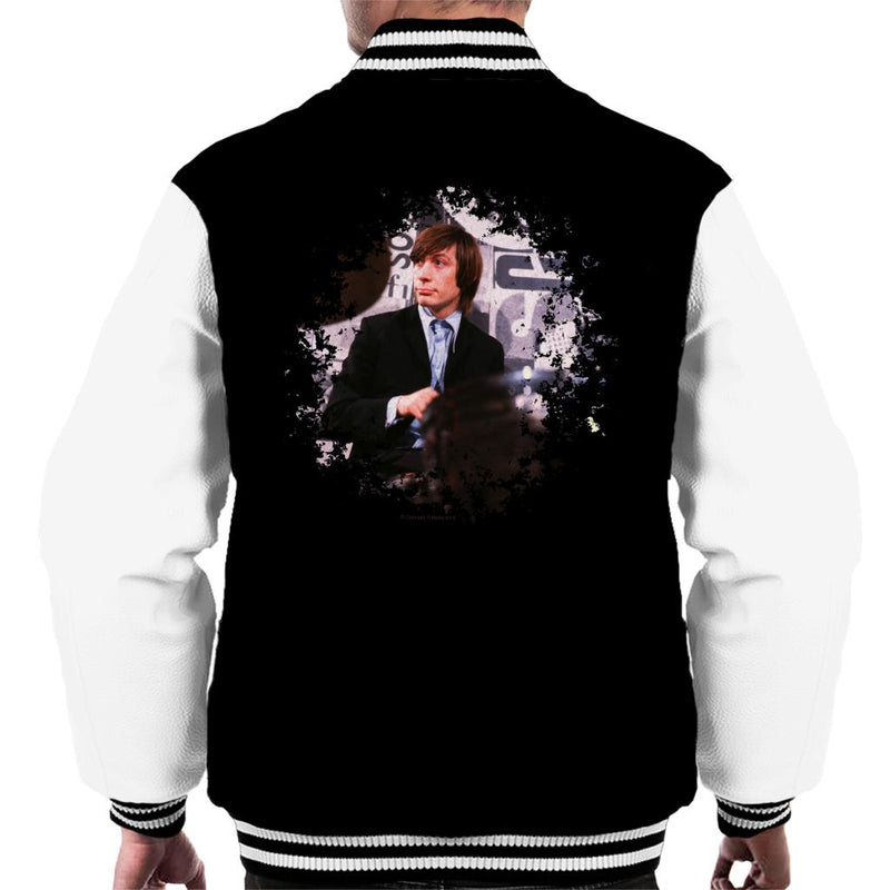 TV Times Charlie Watts Live Rolling Stones Men's Varsity Jacket
