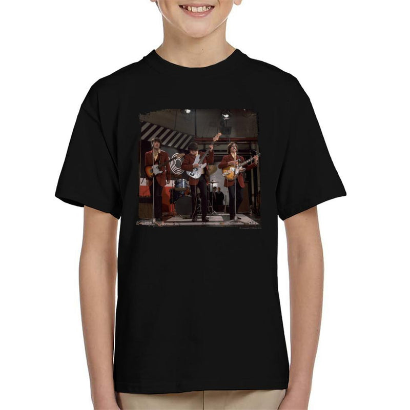 TV Times The Kinks At Ready Steady Go Kid's T-Shirt - POD66