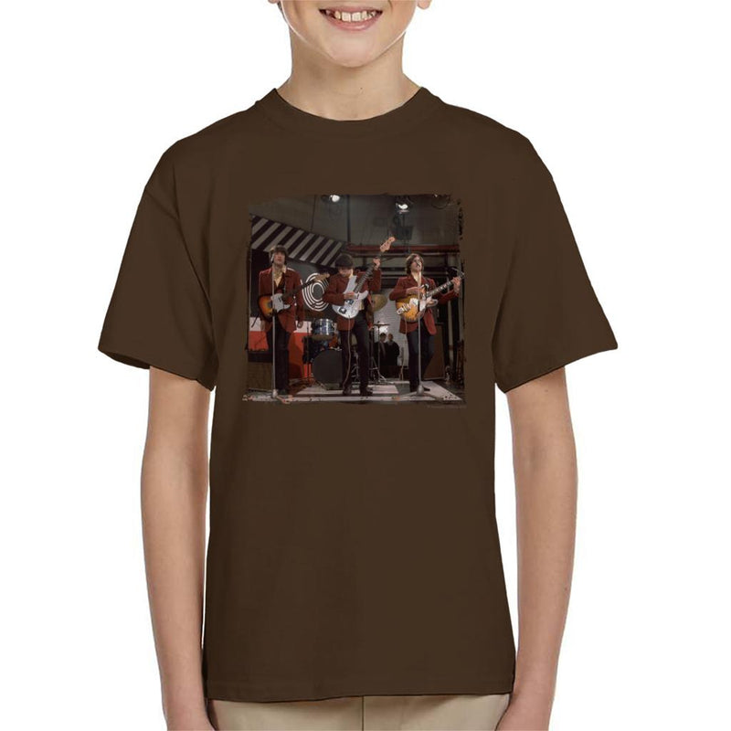 TV Times The Kinks At Ready Steady Go Kid's T-Shirt