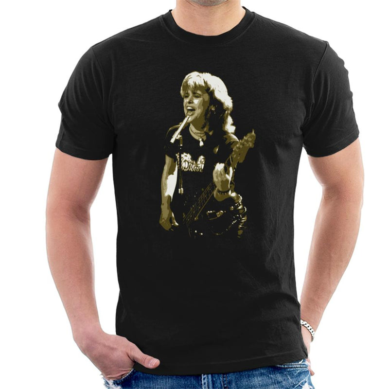 TV Times Suzi Quatro Live Men's T-Shirt