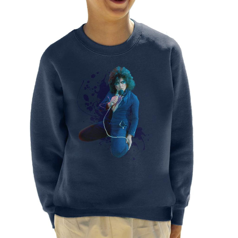 TV Times Marc Bolan On Supersonic Live T Rex Kid's Sweatshirt - POD66