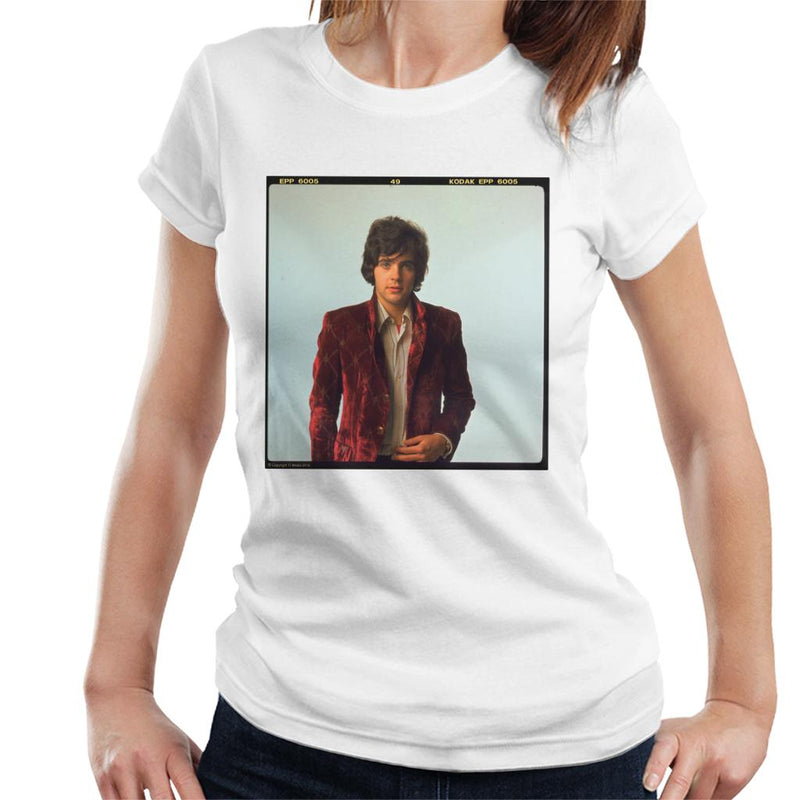 TV Times David Essex Portrait Women's T-Shirt - POD66