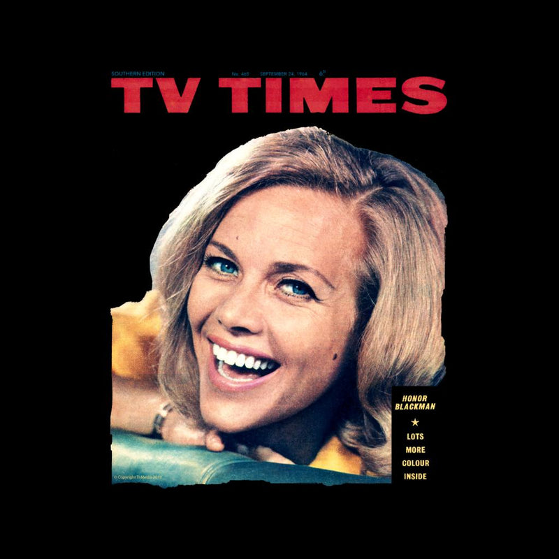 TV Times Honor Blackman 1964 Cover Women's Hooded Sweatshirt - POD66