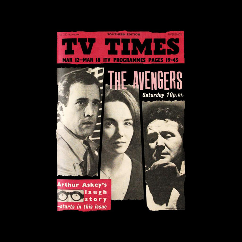 TV Times The Avengers 1961 Cover Kid's Varsity Jacket - POD66
