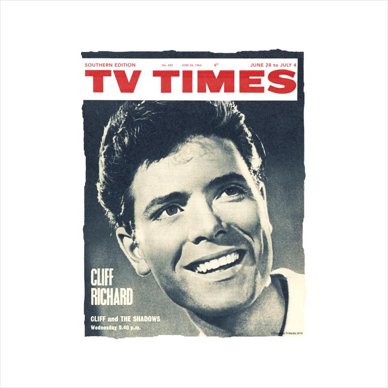 TV Times Cliff Richard 1964 Cover Men's Sweatshirt - POD66