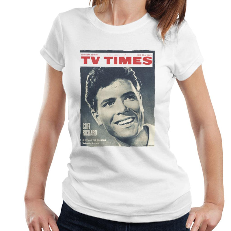 TV Times Cliff Richard 1964 Cover Women's T-Shirt - POD66