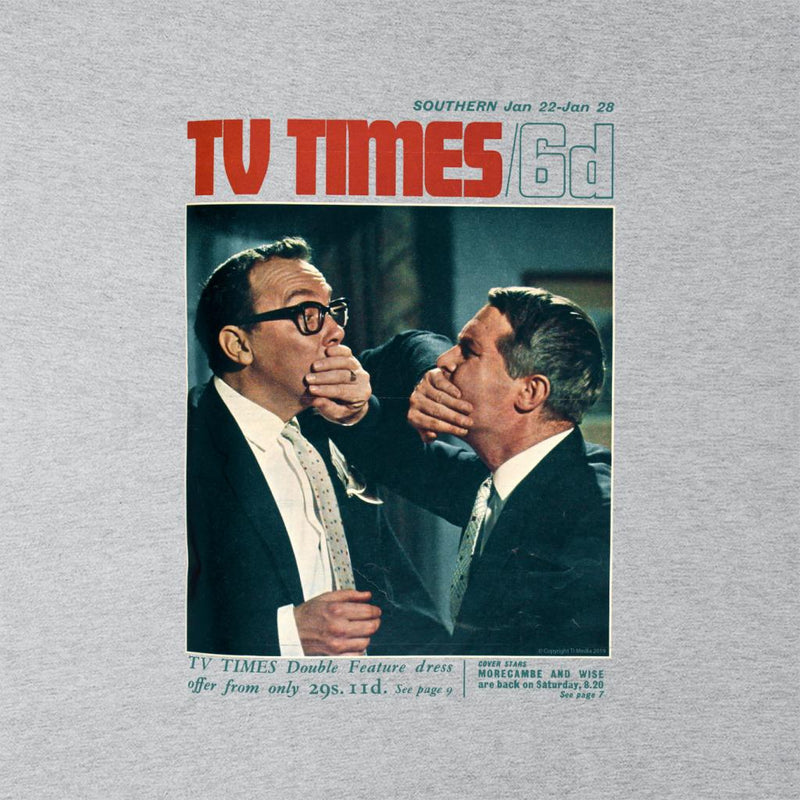 TV Times Morecambe And Wise Show 1966 Cover Kid's Varsity Jacket - POD66