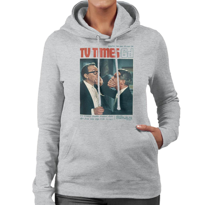 TV Times Morecambe And Wise Show 1966 Cover Women's Hooded Sweatshirt - POD66