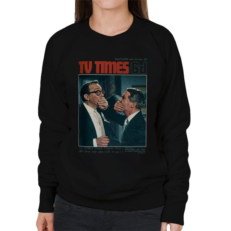 TV Times Morecambe And Wise Show 1966 Cover Women's Sweatshirt - POD66