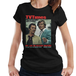 TV Times Tony Curtis Roger Moore Persuaders 1971 Cover Women's T-Shirt - POD66