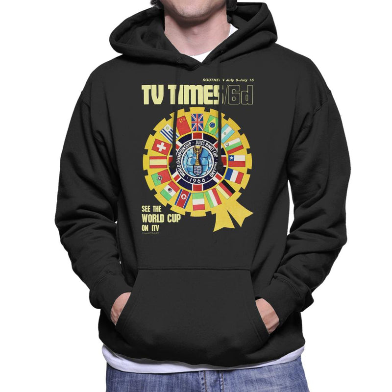 TV Times 1966 World Cup Cover Men's Hooded Sweatshirt - POD66