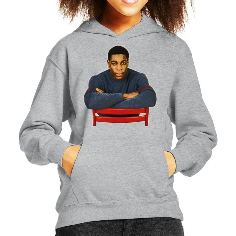 TV Times Frank Bruno 1985 Kid's Hooded Sweatshirt - POD66