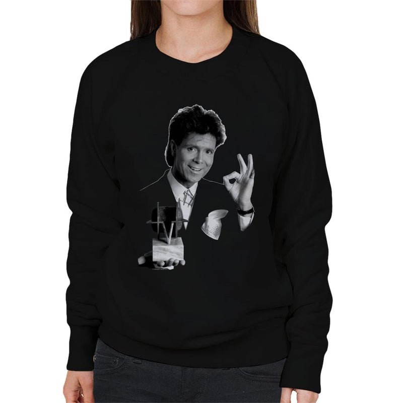 TV Times Cliff Richard TVT Award Women's Sweatshirt - POD66
