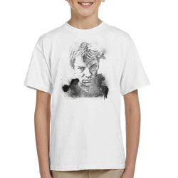 TV Times Portrait Of Musician Sting Kid's T-Shirt - POD66