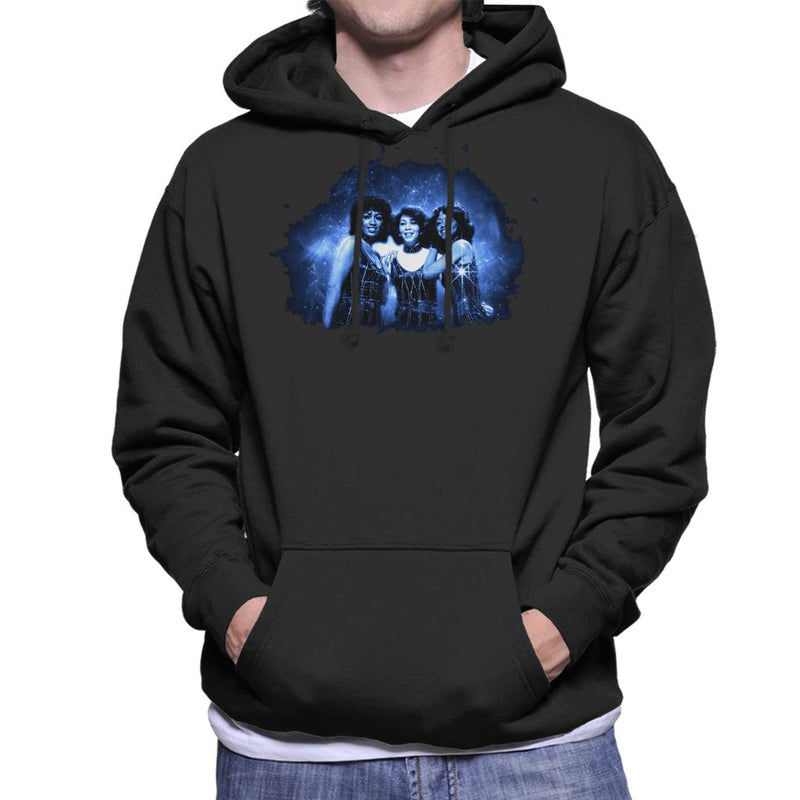 TV Times The Three Degrees Pop Group Men's Hooded Sweatshirt - POD66