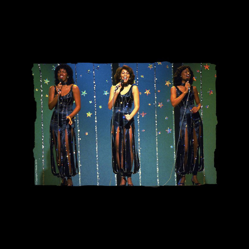 TV Times The Three Degrees Pop Group Performing Women's Vest - POD66