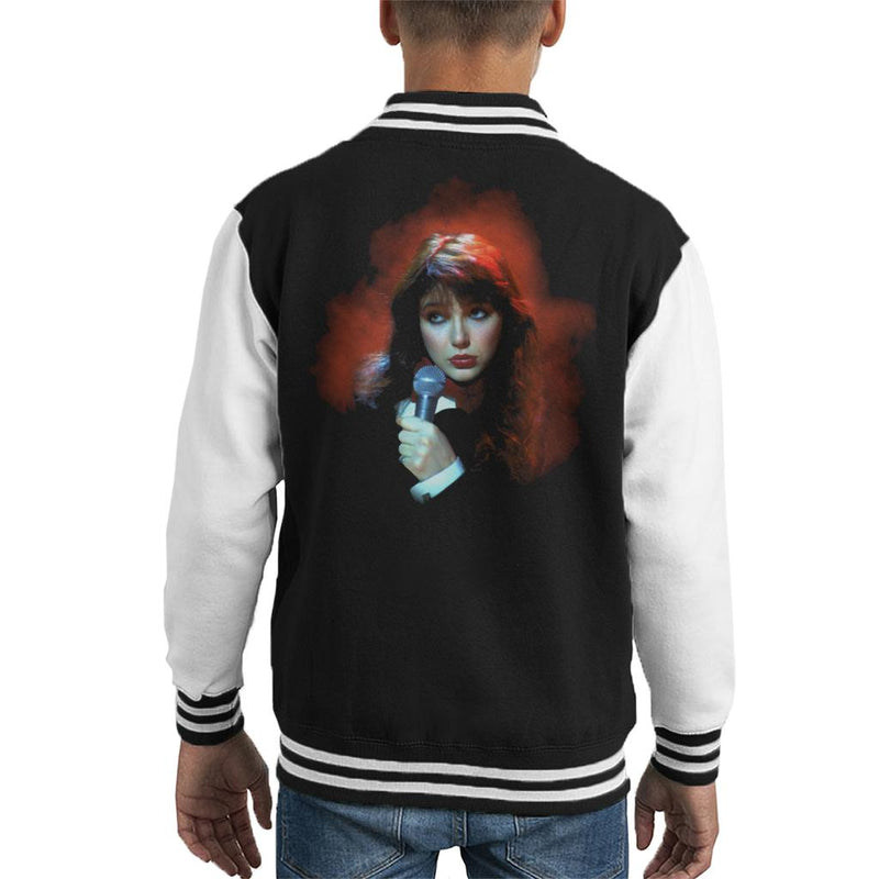 TV Times Kate Bush Performing 1978 Kid's Varsity Jacket - POD66
