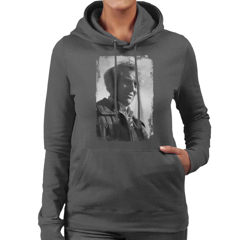 TV Times John Thaw The Sweeney 1976 Women's Hooded Sweatshirt - POD66