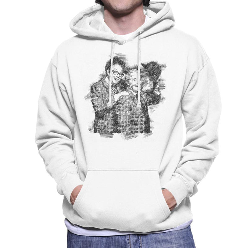 TV Times Comedy Duo Eric Morecambe And Ernie Wise 1981 Men's Hooded Sweatshirt - POD66