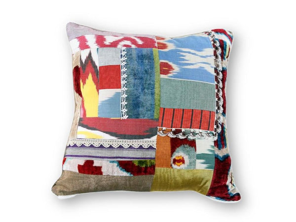 Craziest Ikat Pillow - Letters From Bosphorus