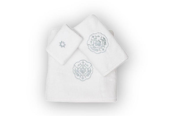 Iznik Soft Organic Cotton Towel Set - Letters From Bosphorus