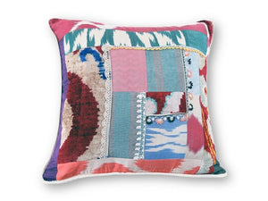 Crazy Ikat Pillow - Letters From Bosphorus