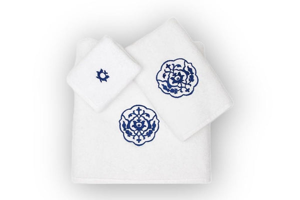Iznik Organic Cotton Towel Set - Letters From Bosphorus