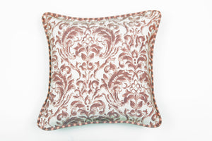Ata Damask Terra Pillow - Letters From Bosphorus