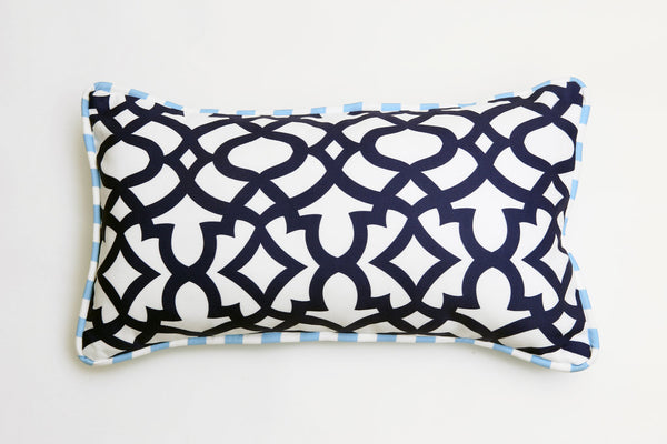 Ata Navy Pillow - Letters From Bosphorus