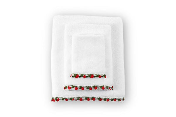 Mini-Me Lace Organic Cotton Towel - Letters From Bosphorus
