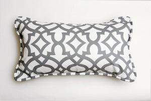 Ata Grey Pillow - Letters From Bosphorus