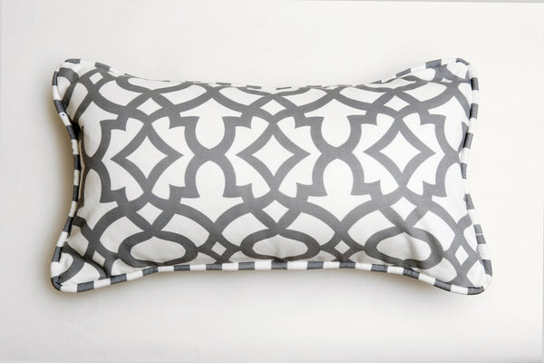 grey ata cushion