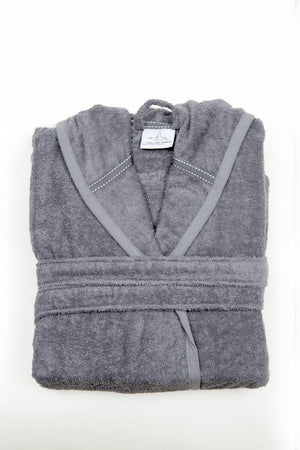 Organic Cotton Robe For Men - Letters From Bosphorus